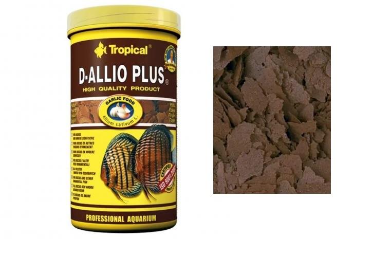 D-allio Plus Flakes 20g - Tropical