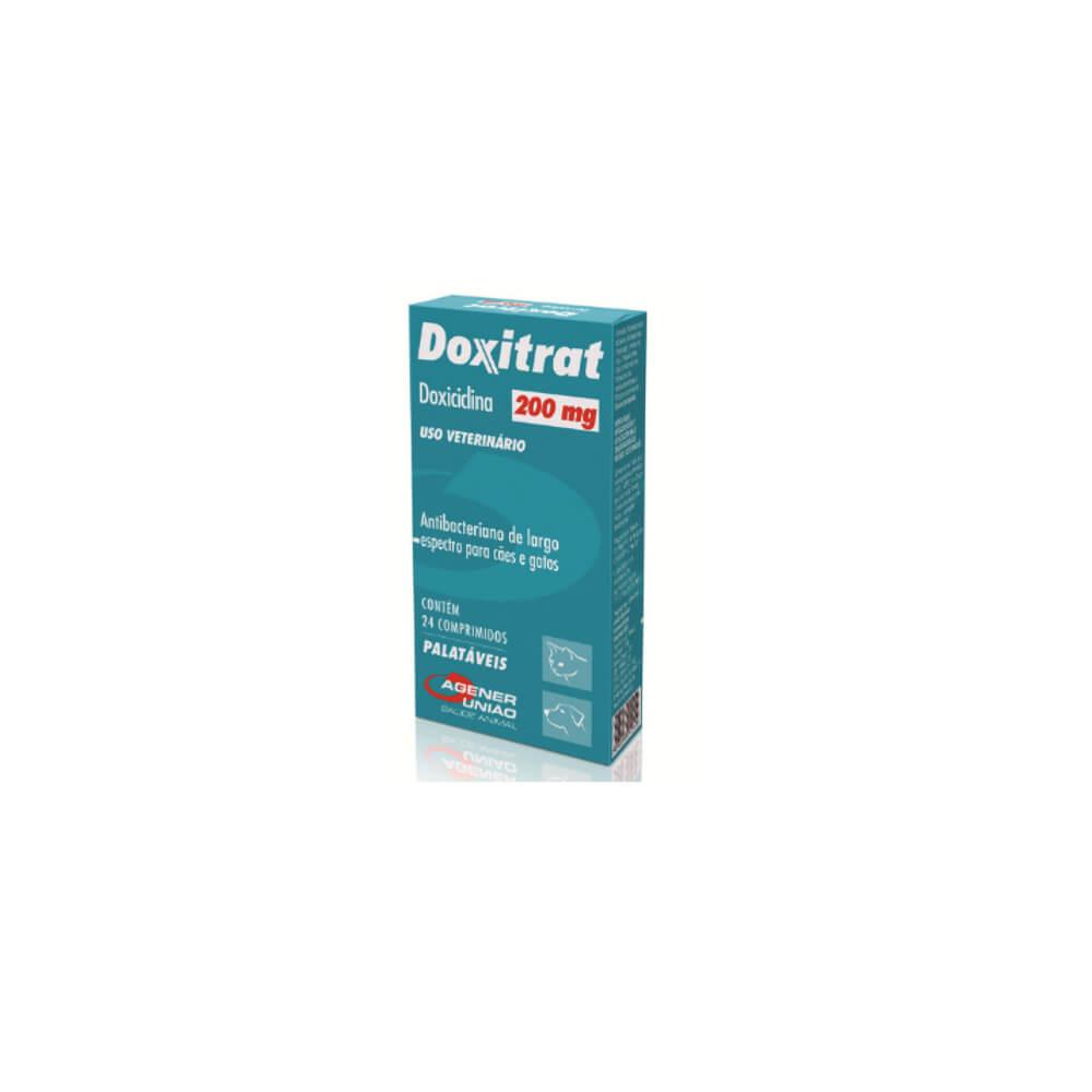 Doxitrat com 24 Comprimidos 200mg Agener União