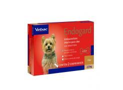 Vermífugo Virbac Endogard para Cães 2,5kg (2Comprimidos)