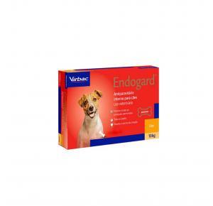 Endogard Vermífugo para Cães até 10kg com 2 Comprimidos Virbac