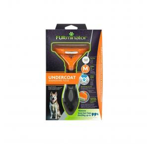 Escova Furminator para Cães Pelo Longo e Grande Pro Snack