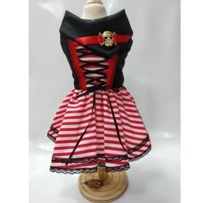 Fantasia Vestido Pirata Pet Club