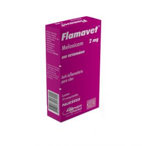 Flamavet Agener União Anti-inflamatório 2mg para Cães 10 comprimidos