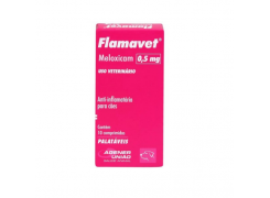 Flamavet Agener União Anti-inflamatório 0,5mg para Cães 10 comprimidos