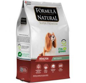 Ração Fórmula Natural Cães Adultos Portes Mini e Pequeno 7kg
