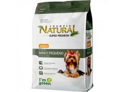 Fórmula Natural Super Premium Cães Adultos Portes Mini e Pequeno 15kg