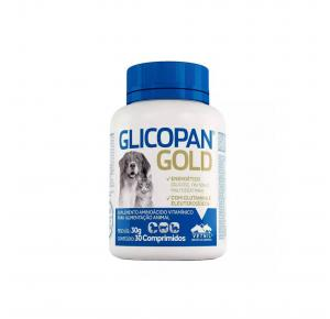 Glicopan Gold 30 com Comprimidos Vetnil