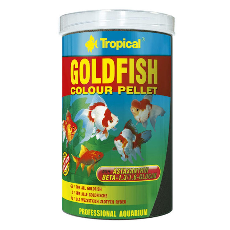 Goldfish Color Pellet 90g - Tropical