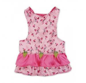 Vestido Floral Luxo Pet Stilo Grande