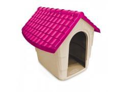 Casinha Nova House N°2 Rosa Plast Pet