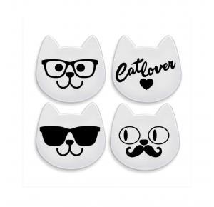 Kit Porta Copos Gatinho Cat My Pet