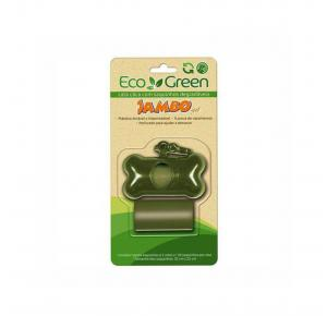 Kit Porta Sacos 2 Rolos Basic Eco Green Jambo Pet