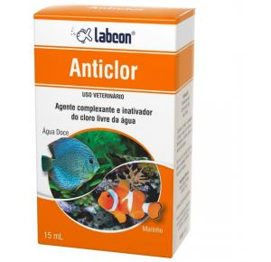 Labcon Anticlor 15ml - Neutraliza o cloro da água