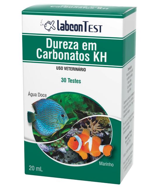 Labcon Test Dureza Em Carbonatos Kh Alcon - 30 Testes