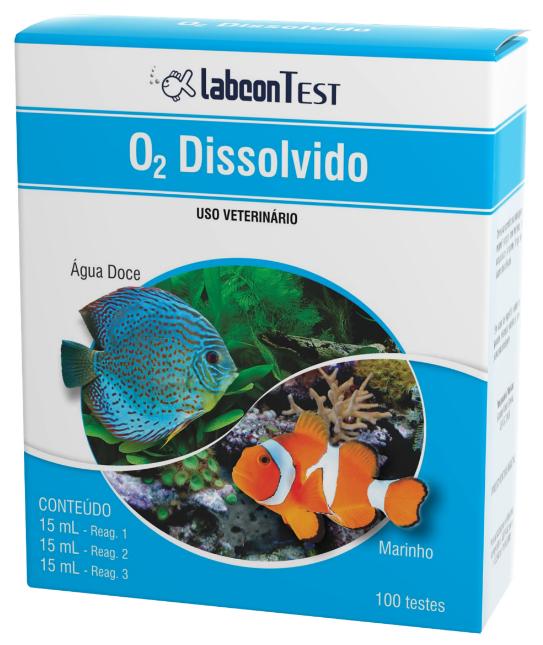 Labcon Test O2 Dissolvido Alcon - 100 Testes