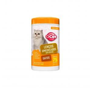Lenço Umedecido Gato 75 Unidades Mais Cat