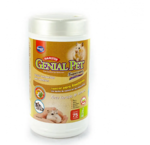 Lenço Umedecido Para Hamsters Genial Pet