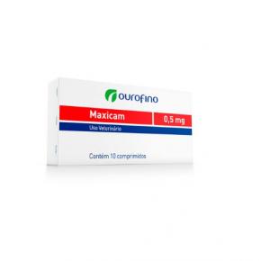 Maxicam Ourofino 0,5mg - blíster com 10 comprimidos