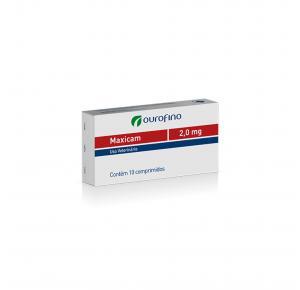 Maxicam Plus 2mg Blíster com 8 Comprimidos Ourofino