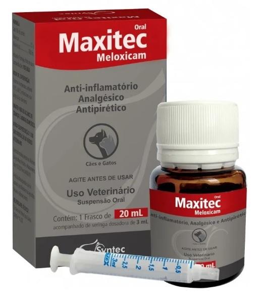 Maxitec 20ml Oral Cães E Gatos Syntec