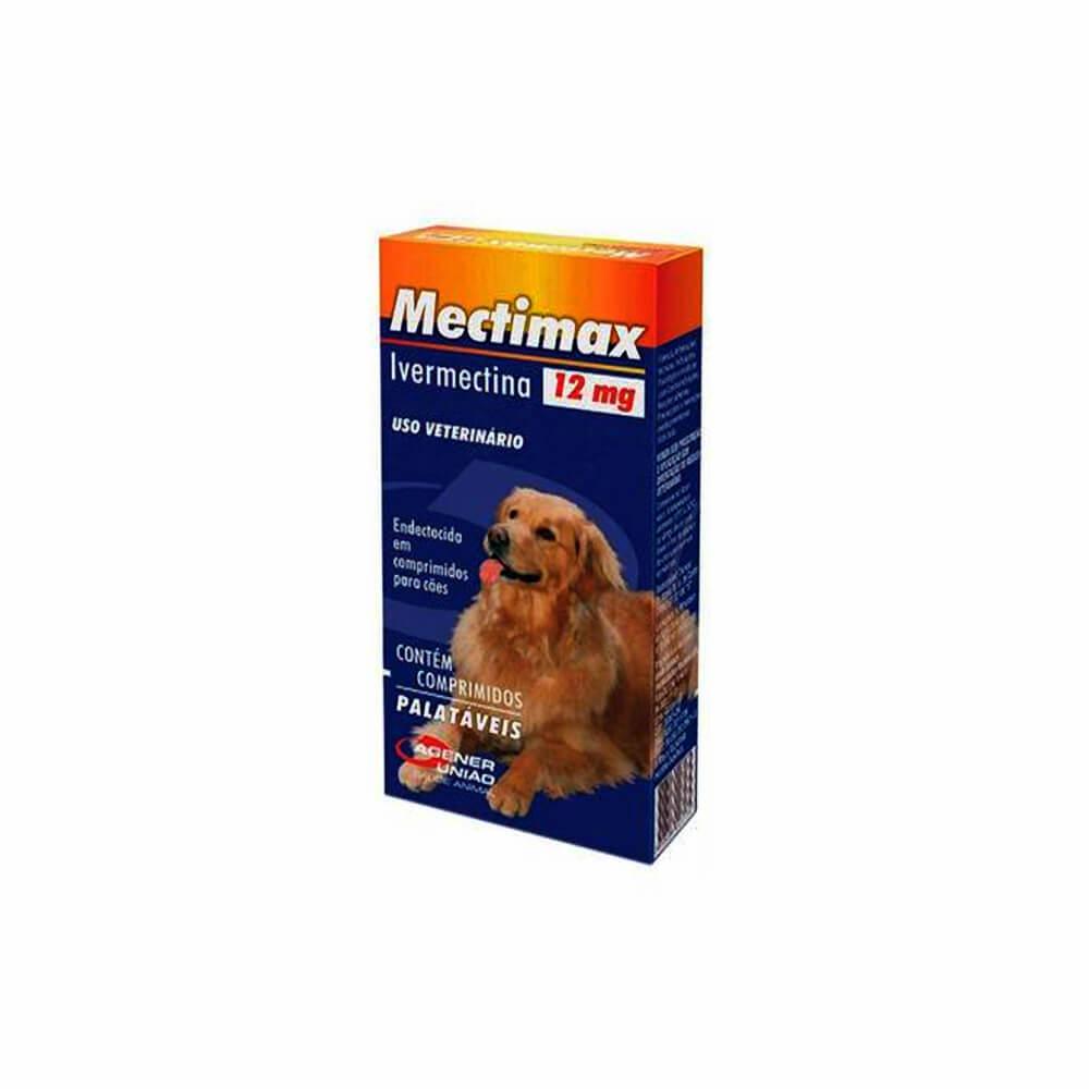 Mectimax 12mg com 4 Comprimidos Agener União