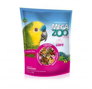 Megazoo Mix para Papagaios - 350g