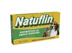 Natuflin Antibiotico Comprimido Com 10  Vetbras