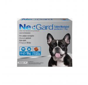 NexGard Antipulgas Cães de 4,1 à 10 Kg 1 Tablete