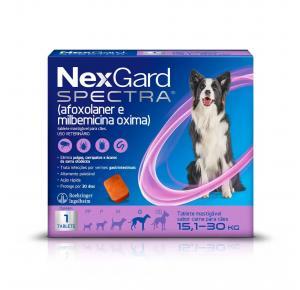 Antipulgas e Carrapatos Nexgard Spectra G 15,1 à 30Kg 1 Tablete
