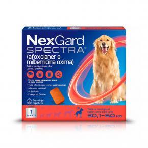 Antipulgas e Carrapatos Nexgard Spectra GG 30,1 à 60Kg 1 Tablete