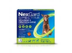 Antipulgas e Carrapatos Nexgard Spectra M 7,6 à 15Kg 1 Tablete
