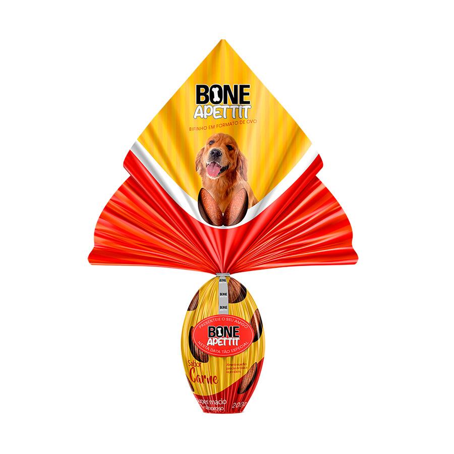 Ovo De Páscoa Para cães Com Surpresinha Bone Apettit Carne