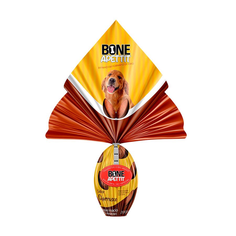 Ovo De Páscoa Para cães Com Surpresinha Bone Apettit Churrasco
