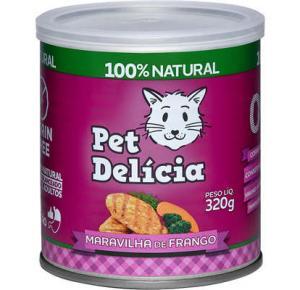 Pet Delícia para Gatos - Maravilha de Frango 320g