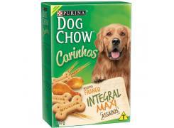 Petisco Nestlé Purina Dog Chow Carinhos Integral Maxi Frango para Cães Adultos Raças Grandes 500g