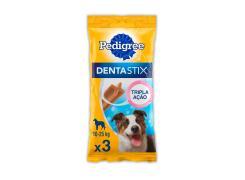 Petisco Pedigree Dentastix Cuidado Oral Para Cães Adultos Raças Médias 3 Unidades