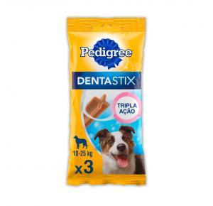 Petisco Pedigree Dentastix Cuidado Oral Para Cães Adultos Raças Médias 77g