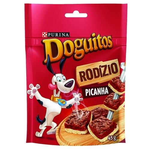 Petisco Purina Nestlé Doguitos Rodízio Picanha 45g