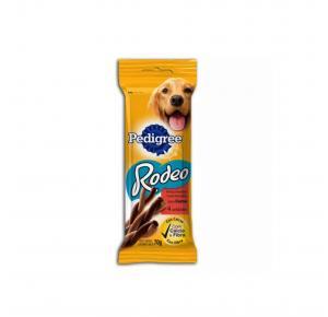 Petisco Rodeo para Cães Adultos Sabor Carne 70g Pedigree