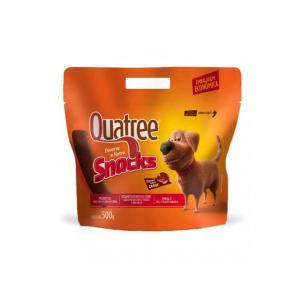 Petisco Snack Quatree para Cães Sabor Carne 500g