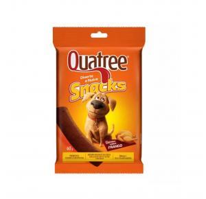 Petisco Snack Quatree para Cães Sabor Frango 60g