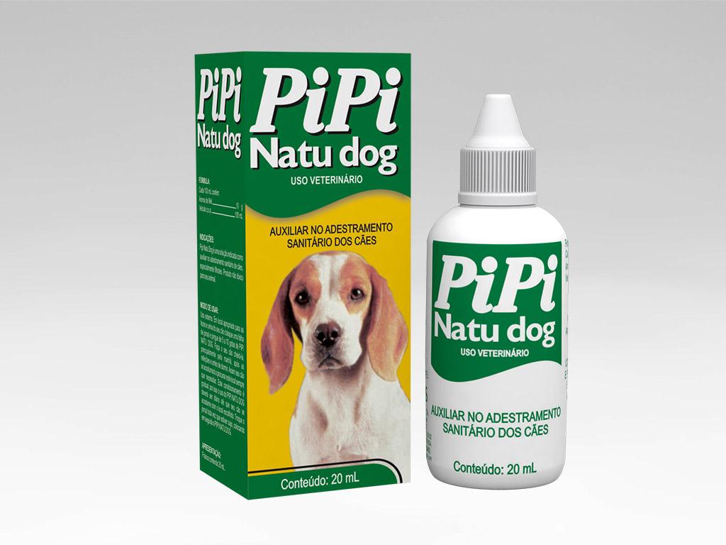 Pipi natu dog auxilia no adestramento sanitário dos cães -  Vetbras 20mL