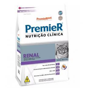 Premier Renal Ração Nutrição Clínica para Gatos Adultos 1.5kg