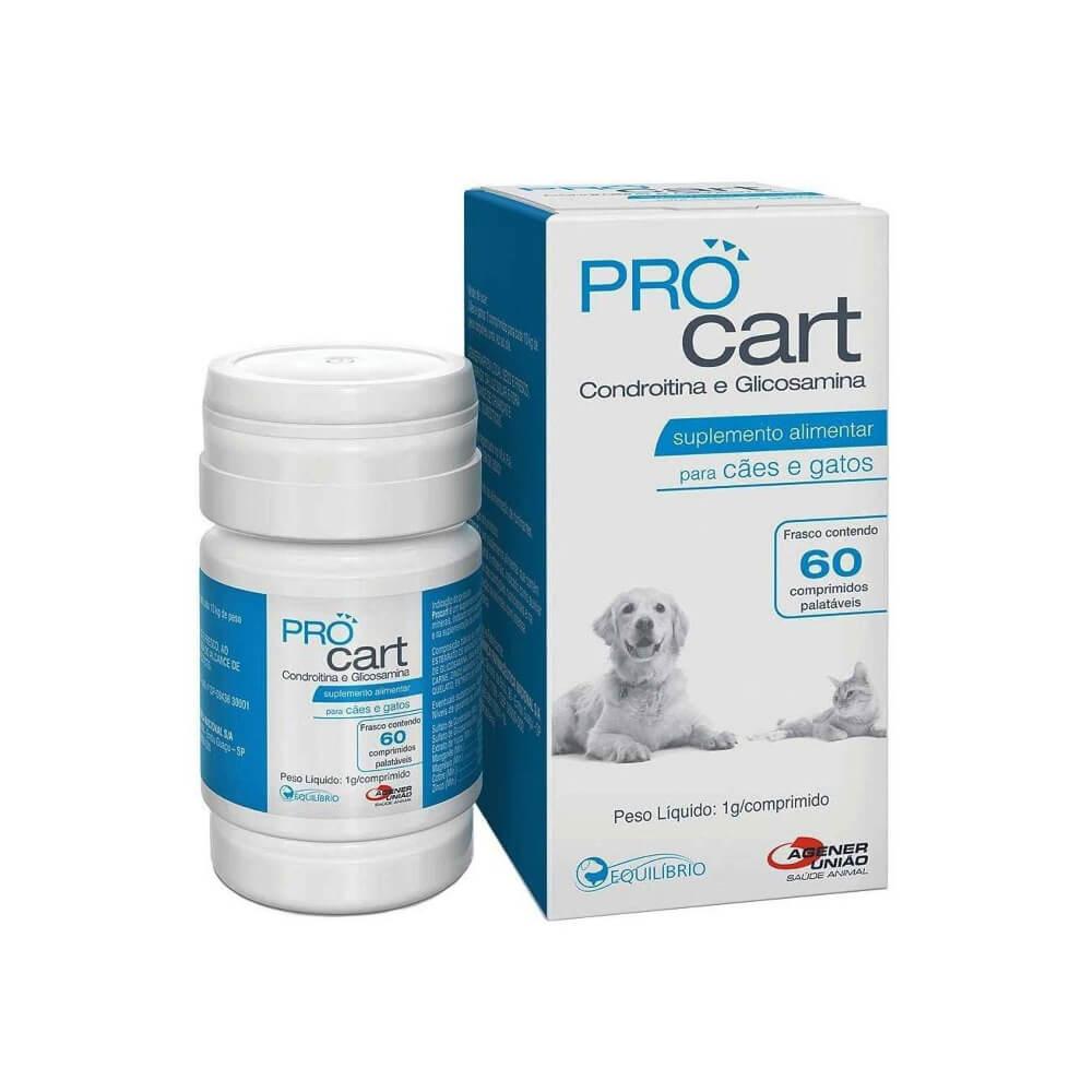 Proc Cart com 60 Comprimidos até 10 Kg Agener União