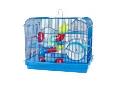 Gaiola Hamster Com Andar Acrilico Cores Jet Plast