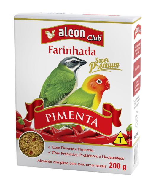 Ração Alcon Club Farinhada Pimenta 200g