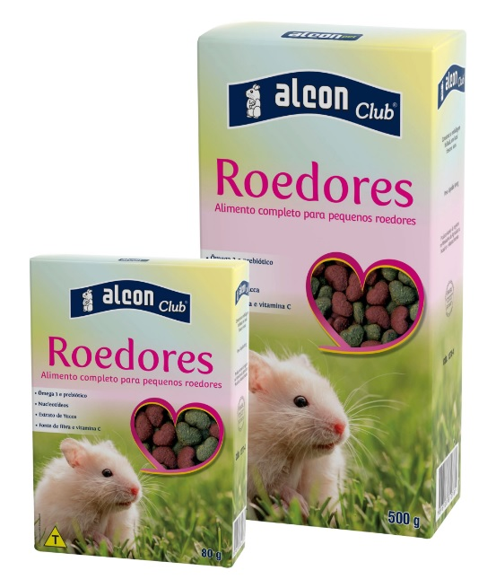 Ração Alcon Club Roedores