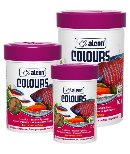 Ração Alcon Colours
