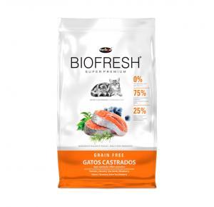 Ração Biofresh para Gatos Castrados 1.5kg