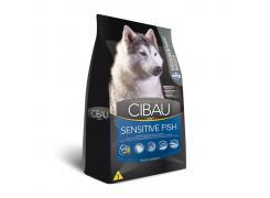 Ração Cibau Fish para Cães Adultos Sensíveis Raças Médias e Grandes 12kg